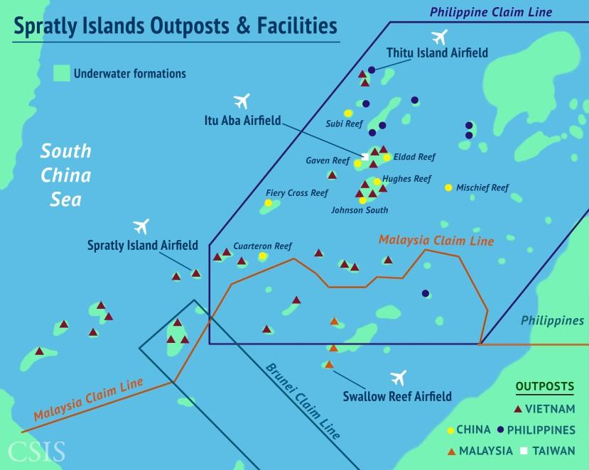 La Cina e la possibile Adiz nel Mar CineseMeridionale
