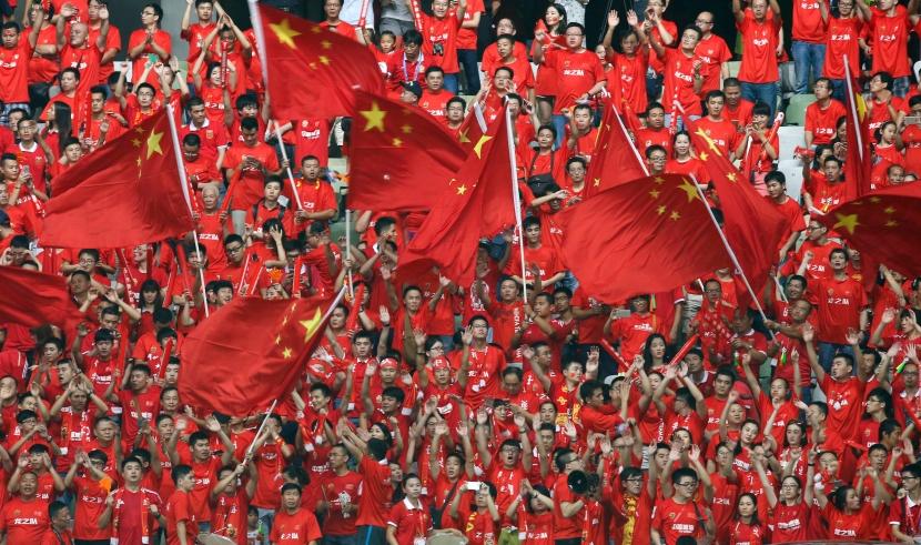 La Cina nelpallone