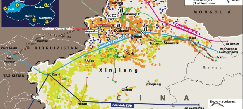 Pechino mostra i muscoli alXinjiang
