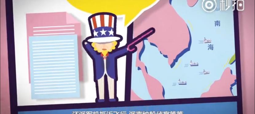 Mar Cinese Meridionale: la versione della Cina in unvideo