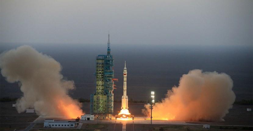 La lunga marcia della Cina nellospazio