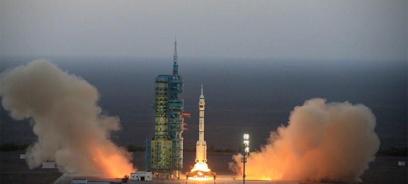 La Cina lancia Shenzhou-11 nellospazio