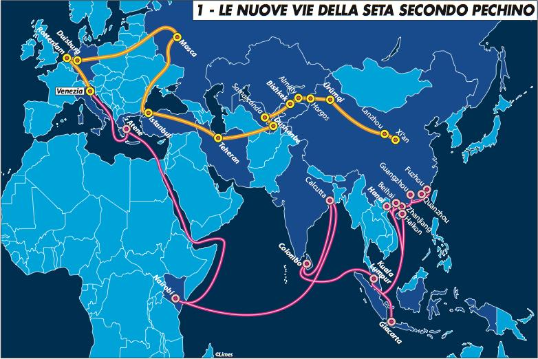 L'incontro Renzi-Xi e il posto dell'Italia lungo le nuove vie dellaseta