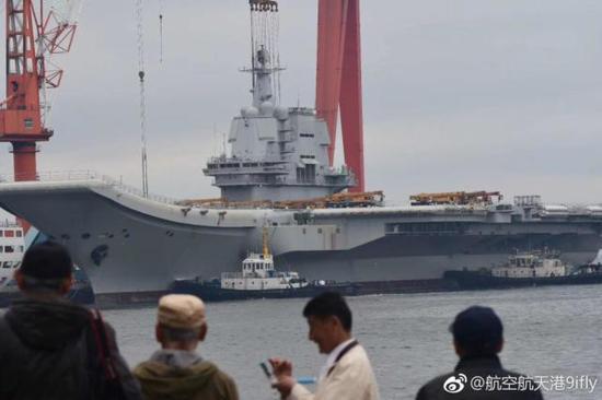 La seconda portaerei della Cina inizia itest?