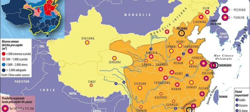 Le Cina nellaCina